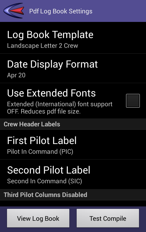 Cirrus pilot logbook android apps on google play cirrus pilot logbook screenshot pronofoot35fo Images
