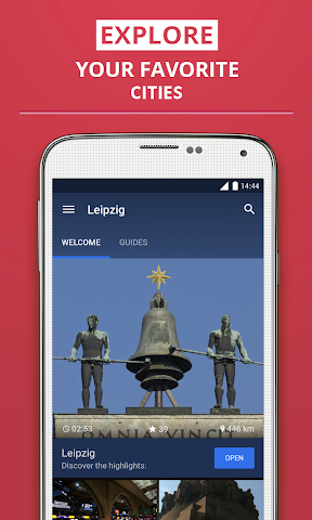Screenshot 1 Leipzig Premium Guide