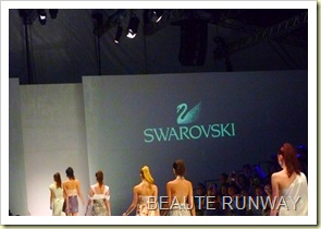 Swarovski at Audi Fashion Festival Jayson Brunsdon Dress 34