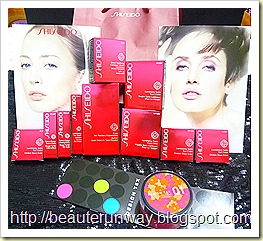 Shiseido sring collection sponsored goodies