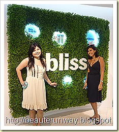 Bliss spa sehora singapore GM Beaute Runway