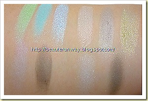 maquillage 3d swatches limited edition