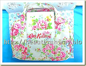 cath kidston bag with mirror