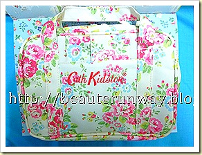 cath kidston bag with tissue case