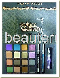urban decay Alice In Wonderland closeup