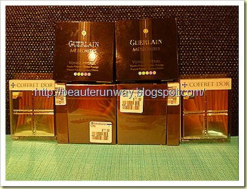 Guerlain, Lunasol n coffret d'or mini haul