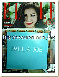 Paul & Joe 2010 Summer ELLE Hong Kong 2