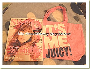Juicy Couture X Sweet Magazine July