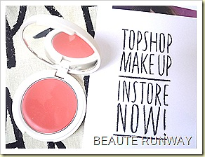 Topshop Makeup blusher - neon rose