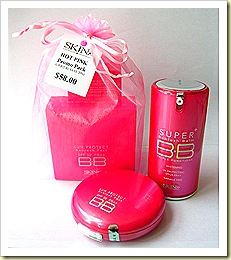 skin79 hot pink bb cream set
