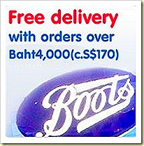 Boots orders