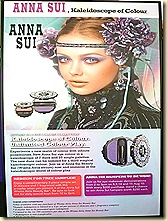 Anna Sui Autumn makeup Demonstration