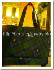 Harrods tote bag london