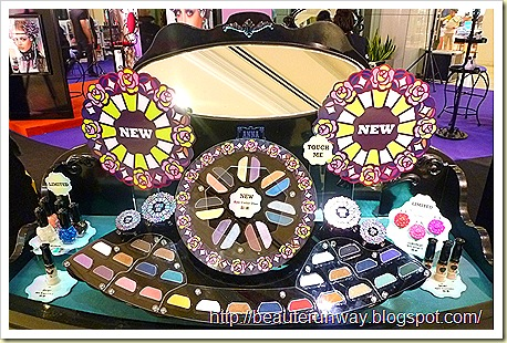 Anna Sui Autumn Makeup Colors