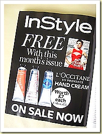 In style L'Occitane Hand Cream