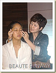 Clinelle Eye Care application and massage of Eye Bright