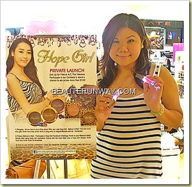 Beaute Runway Hope Girl Launch ALT Heeren Singapore
