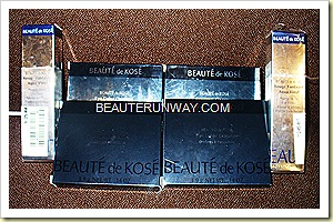 Beaute De Kose Fantasist Aqua Vinyl Lip colour & eyeshadows