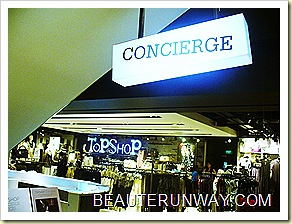 Topshop Concierge at Knightsbridge Singapore