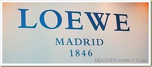 Loewe Spring Summer2011  Press Presentation