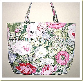 Paul & Joe tote bag floral spring 2011