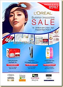 Loreal Expo Sale march 2011