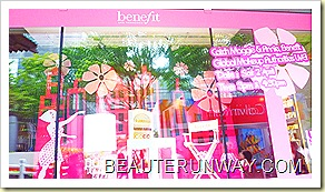 Benefit Cosmetics Maggie & Annie Makeup Demo at Tangs Orchard