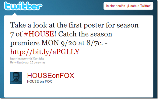 Twitter - HOUSE on FOX