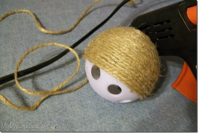 jute wiffle balls