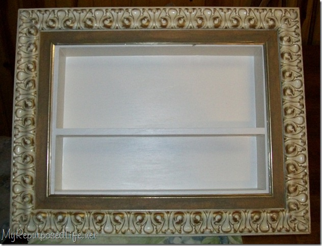 Picture Frame Shadow Boxes - My Repurposed Life®