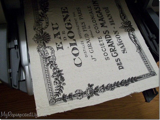 fabric printer graphics fairy french cologne