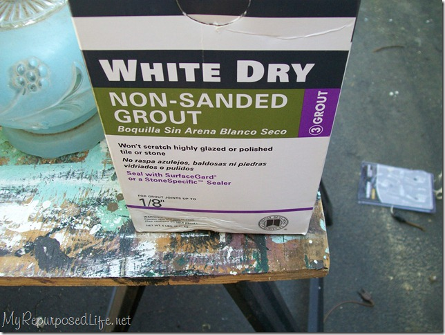 non sanded grout chalkboard paint