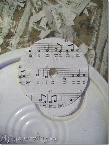 decoupaged cd