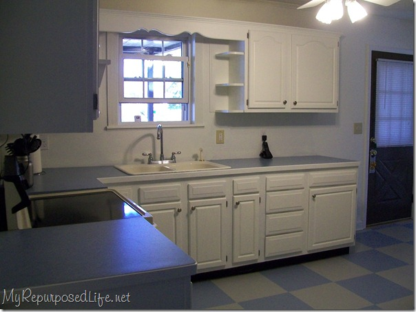 white kitchen cabinets and more