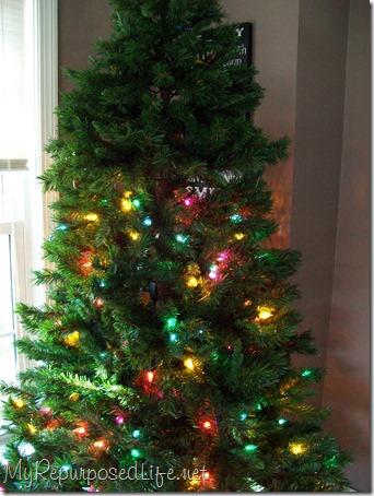 gail vs the Christmas tree - My Repurposed Life®