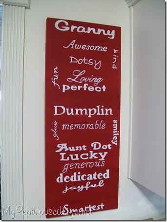 subway art for granny
