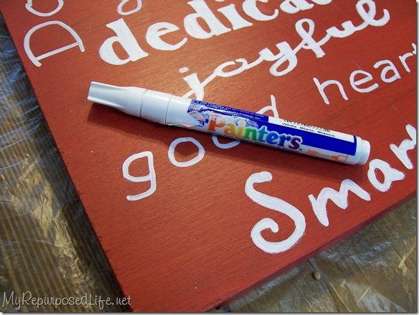 paint pen for subway art