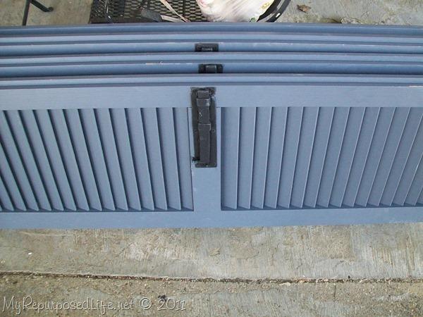 shutters repurposed bookshelf (2)