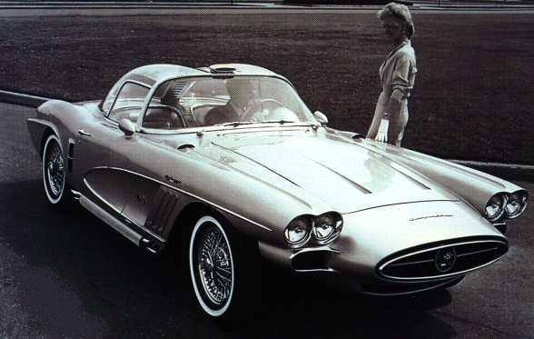 Chevrolet Corvette Xp 700