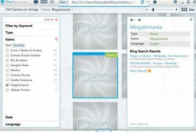 Preview in Excel Pivot tools