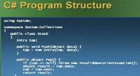 c# programin structure