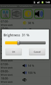 Droid Scheduler screenshot 1