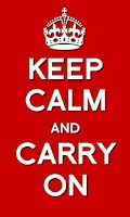 Screenshot of Keep Calm and Carry On