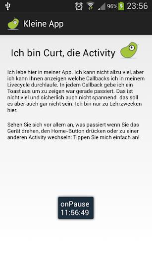 Curt die Activity