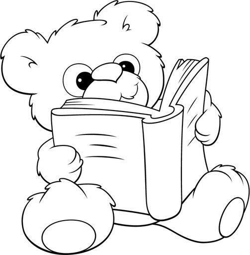 Dibujos De Niños Con Libros Y Mascotas Con Libros