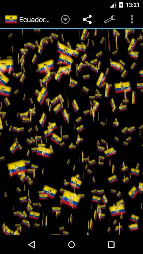 Ecuador Storm 3D Wallpaper