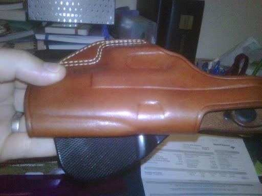 WTT Galco Paddle Holster for 1911/Kimber IWB - Calguns net