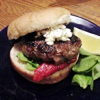 Grilled Spicy Lamb Burgers
