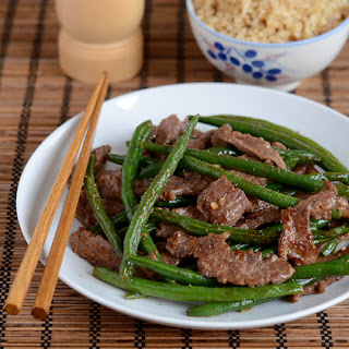 Vietnamese Beef and Green Bean Stir-fry.