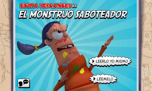 Evita vs Monstruo Saboteador